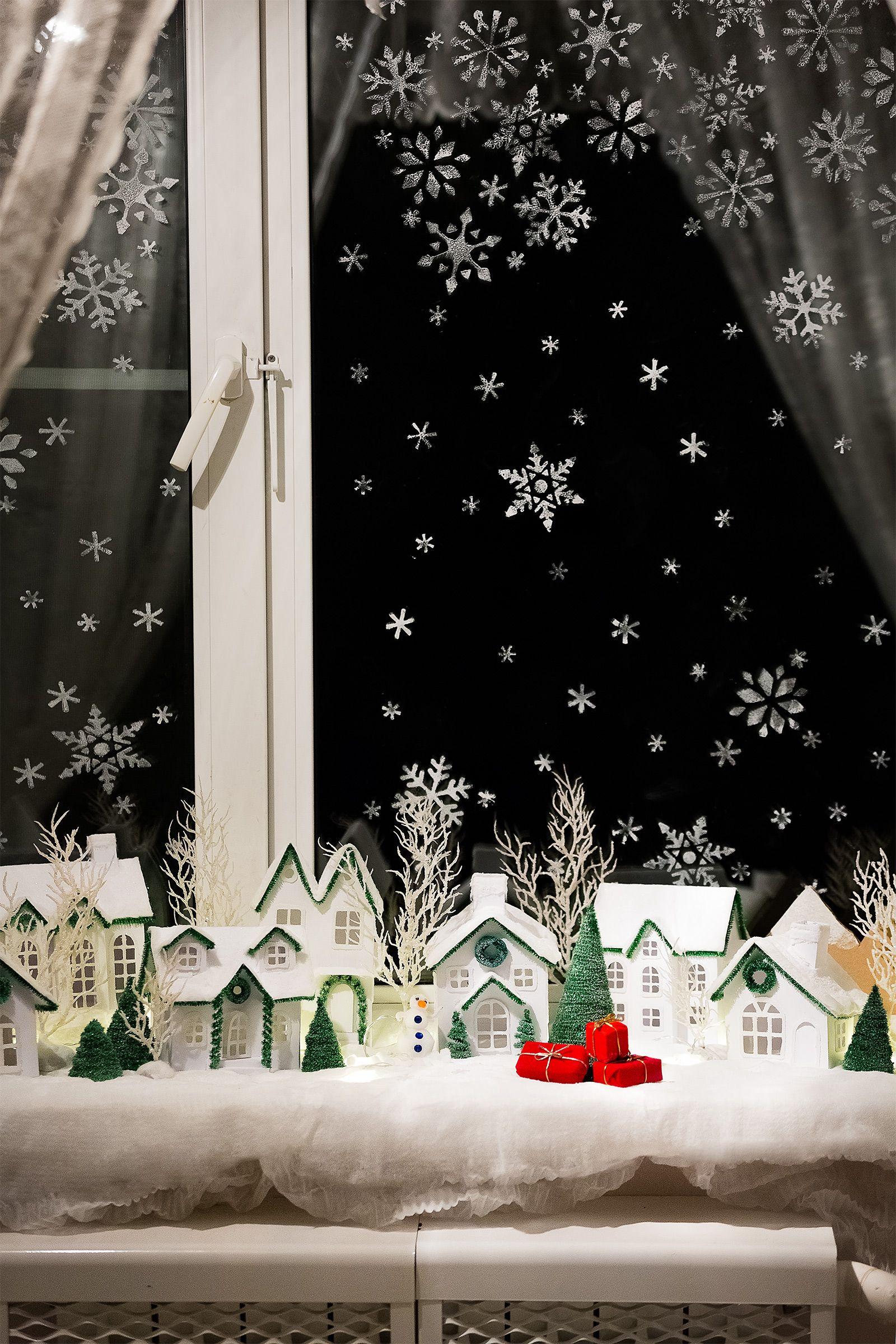 christmas house, diy paper house, christmas tree, advent ...