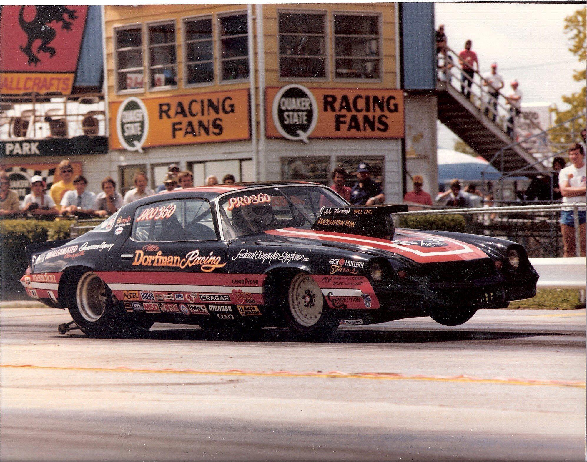 Vintage Drag Racing Pro Stock Dorffman Racing Drag Racing Cars Drag Racing Nhra Drag Racing