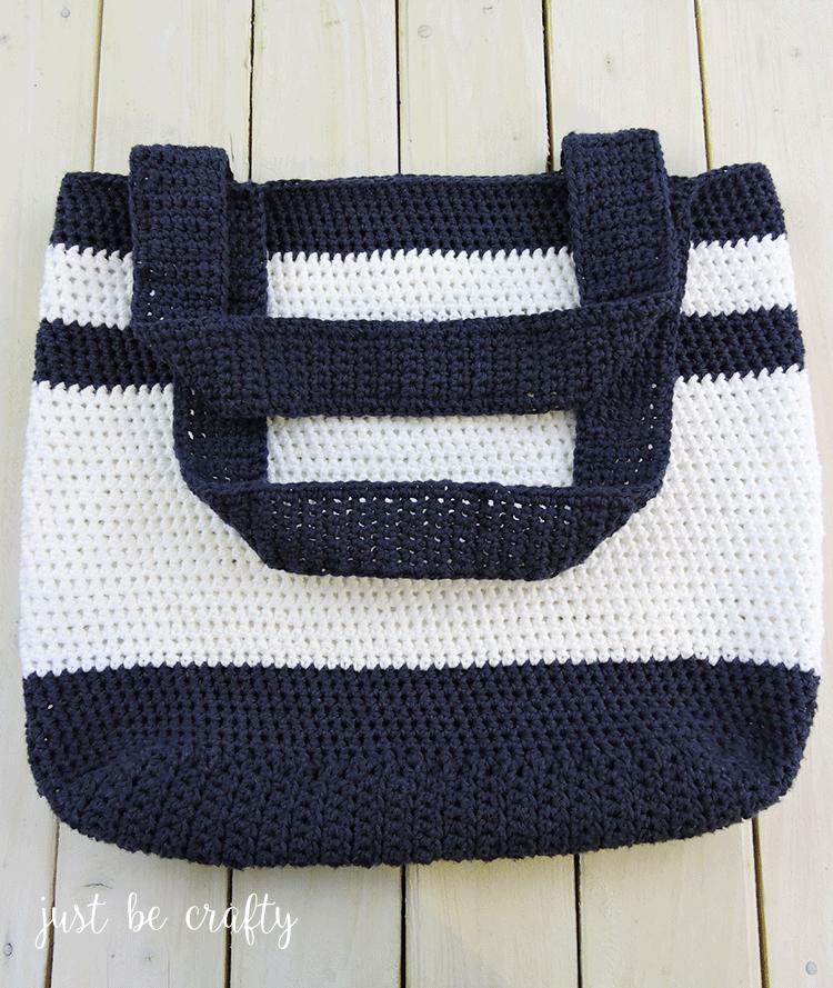 Nautical Crochet Bag Pattern Free Pattern By Crochet Patterns