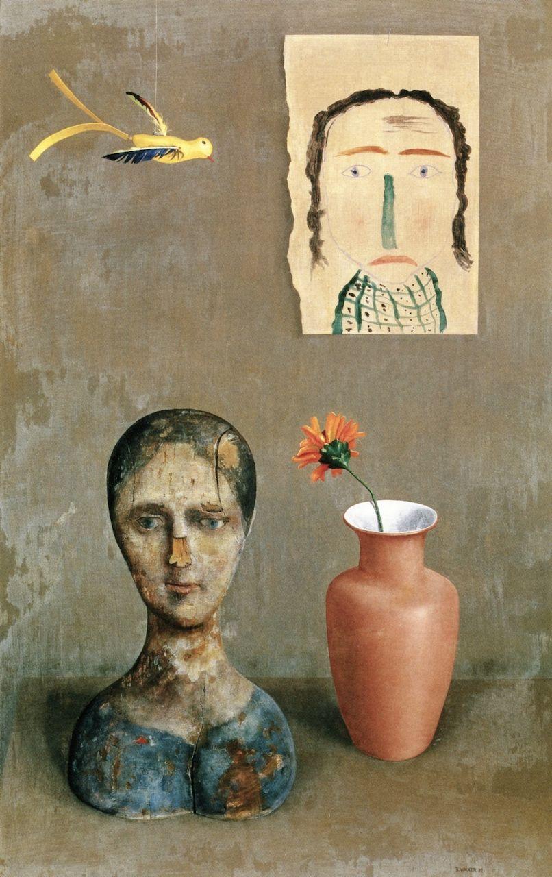 Two Heads by Rudolf Wacker, 1932