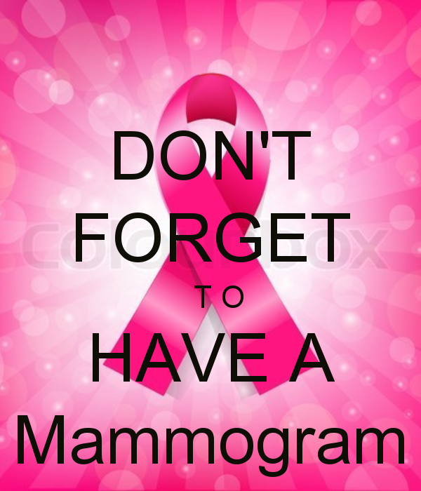 Image result for don't forget to make your mammogram appointment