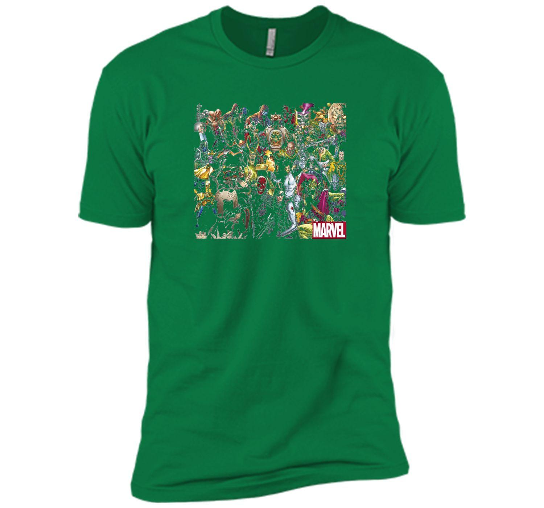 Marvel Villain Collage Graphic T-Shirt