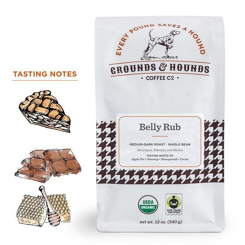 Grounds & Hounds Coffee Co. Store Dark roast, Organic