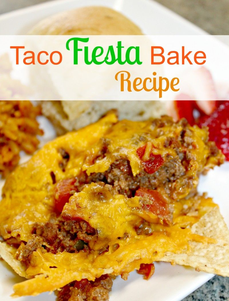 Mexican inspired family dinner taco fiesta bake recipe for supper mexican inspired family dinner taco fiesta bake recipe for supper forumfinder Choice Image
