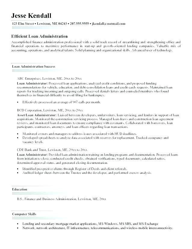 28 Business Administration Resume Samples Cover Letter Templates