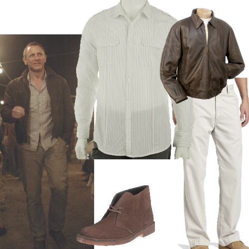 Enjoying Death outfit from Skyfall. About $400, leather jacket and all.