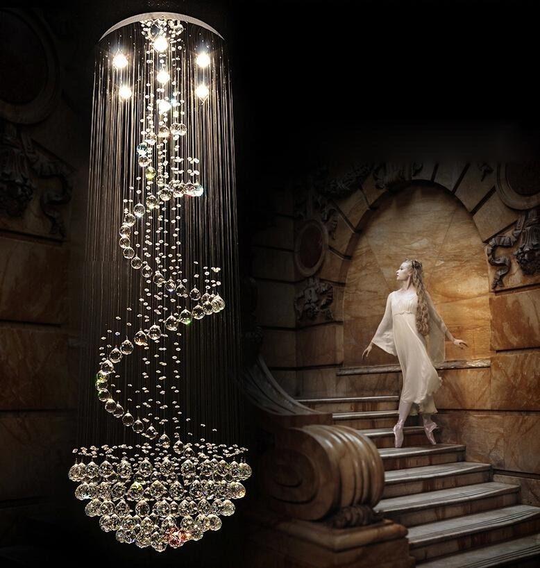 Details Zu LED K9 Kristall Kronleuchter Deckenleuchte Luster Leuchte Deckenlampe Hangelicht