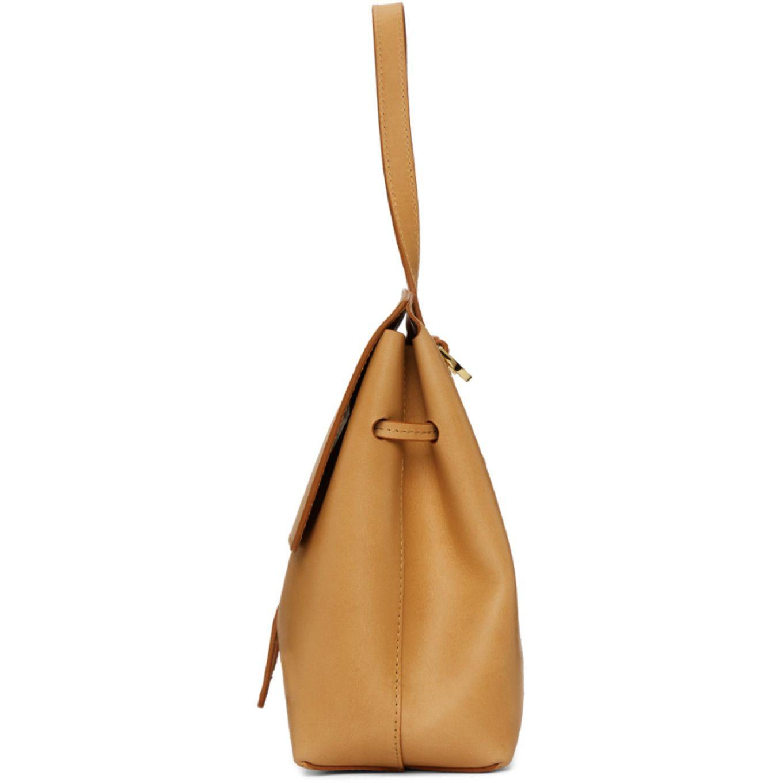 13c4738bd2cc Tan Leather Mini Lady Bag