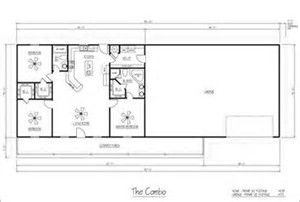 Image Result For Combination Shop With Living Quarters Floor Plans Metal Homes Floor Plans Steel Building Homes Metal Building Homes