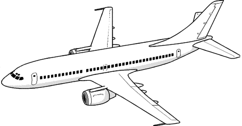 Printable Airplane Coloring Pages | Airplane coloring pages ...