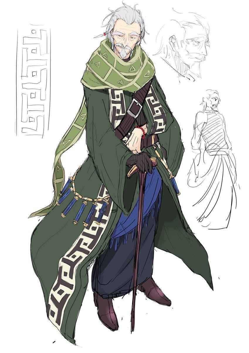 Imagen insertada Fantasy character design, Character