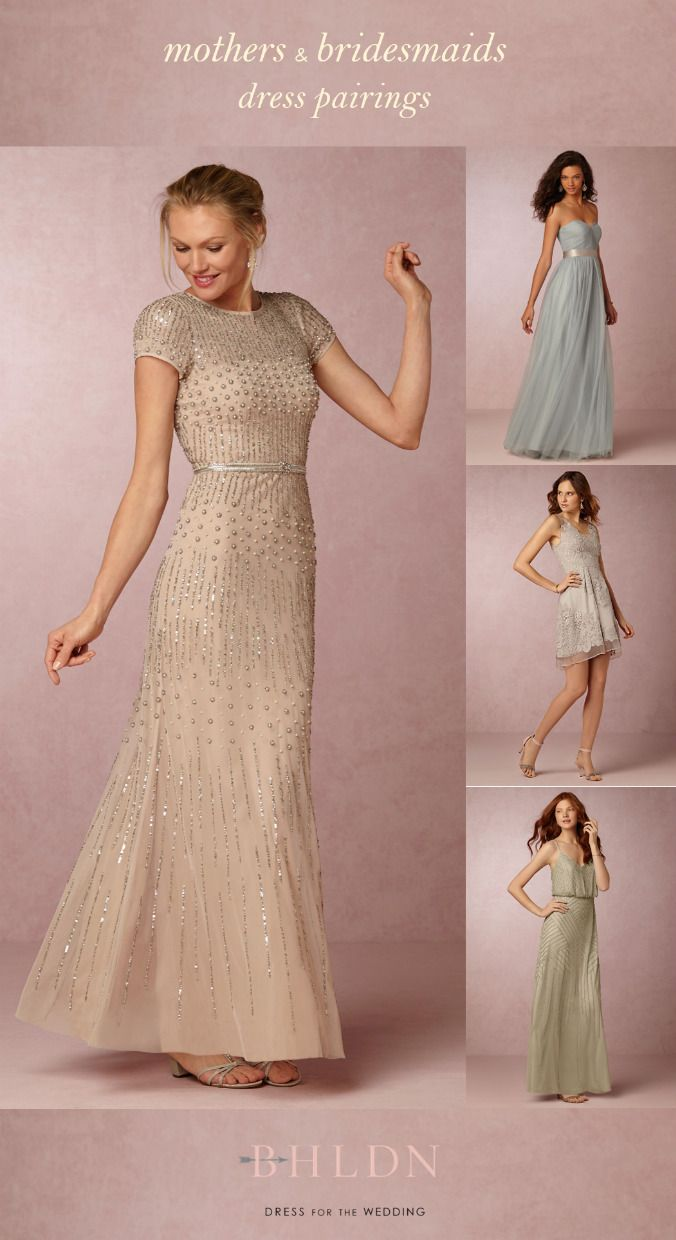 Dresses to wear to summer wedding  New Spring and Summer Mother of the Bride Dresses from BHLDN  Bride