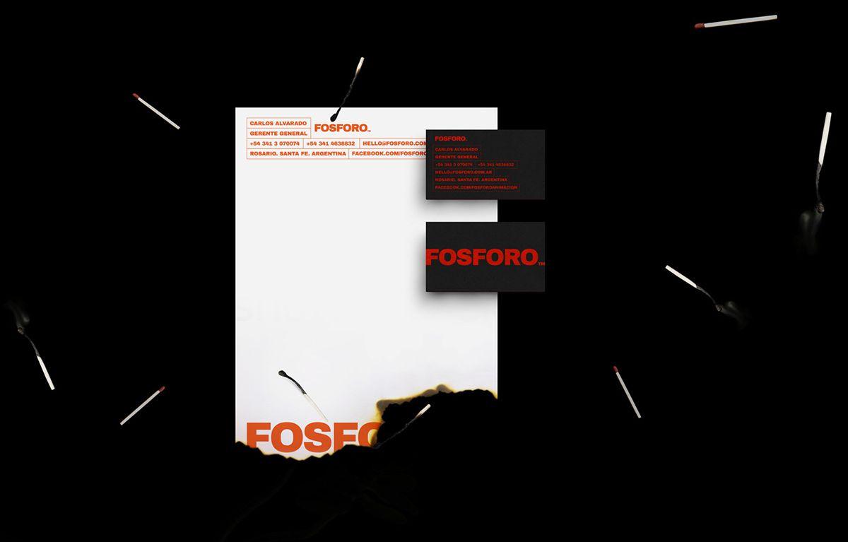 Branding Fosforo Estudio de Animacion on Behance