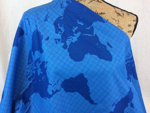 World map print fabricblue on blue world mapriley by morelovemama world map print fabricblue on blue world mapriley by morelovemama gumiabroncs Images