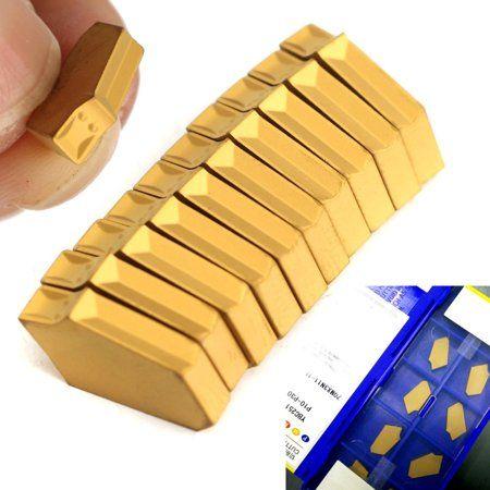 10Pcs ZQMX 3N11-1E SP300 GTN-3 3mm Grooving Cut-Off Carbide Inserts CNC Use Tool