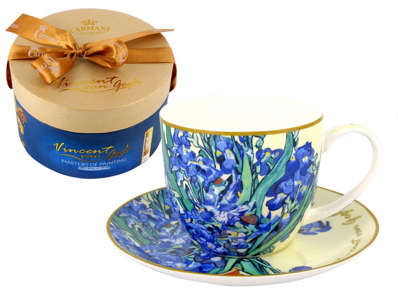 Filizanka Van Gogh Irysy Piekny Prezent 830phh0202 6989554489 Oficjalne Archiwum Allegro Van Gogh Unique Coffee Mugs Bone China Tea