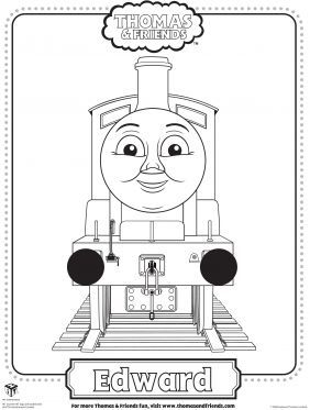 edward coloring page thomas friends coloring pages for kids sprout