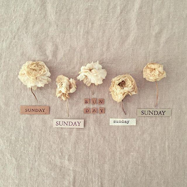 ¡Qué tengáis un bonito S U N D A Y! 💛 #ltfathome #latitadefabiola #ltfinspiration #ltfloves #linen #stamps #kraft #driedflowers #vintagestyle