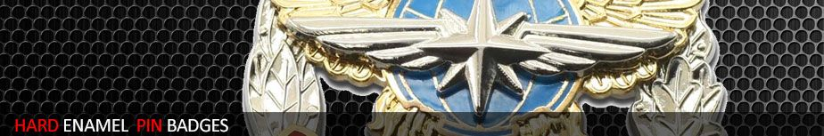 Hard Enamel Pin Badges - promler co uk - Custom Embroidered