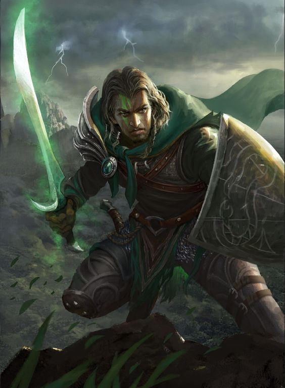 Sword And Shield Fantasy Art