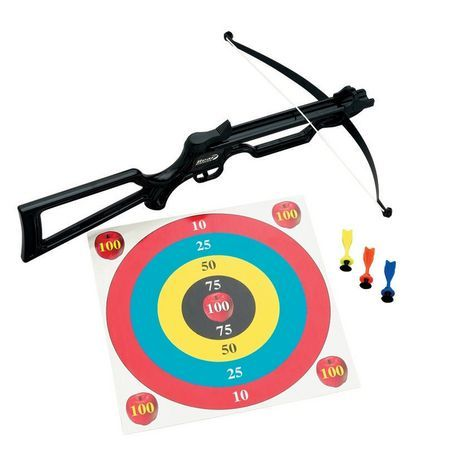 Cross Bow Set for sale at Walmart Canada. Shop and save Sports & Rec at everyday low prices at Walmart.ca