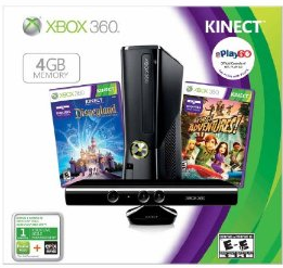 Amazon Black Friday Lightning Deals Thanksgiving Just Dance 4 Xbox 360 With Kinect Bundle More Xbox 360 Console Kinect Xbox 360