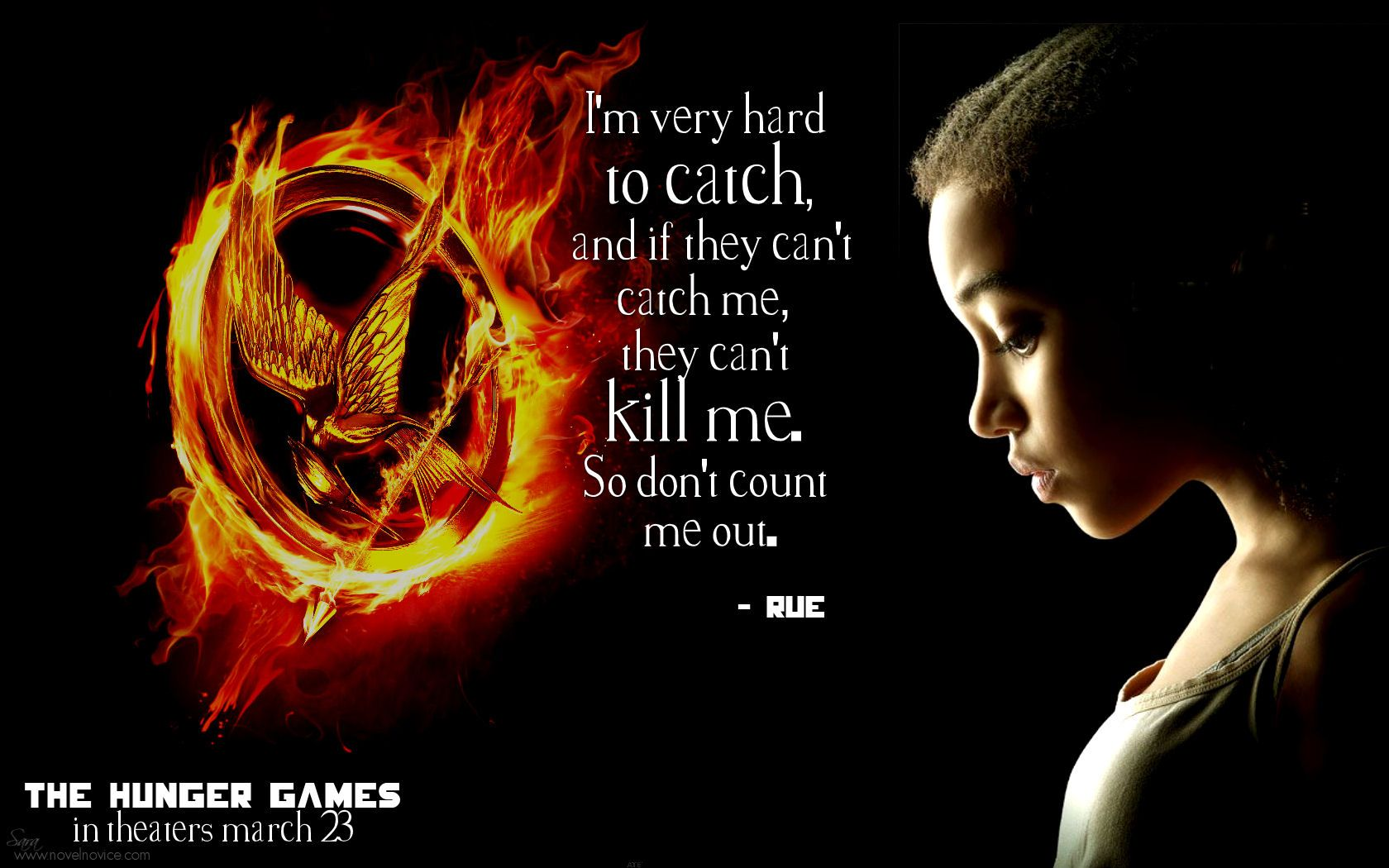 Hunger Game Quotes Rue From The Hunger Games  29 Responses To The Hunger Games Movie