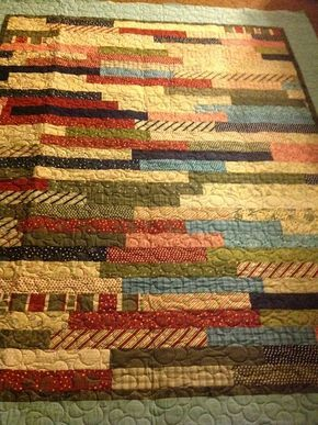 jelly-roll-1600-quilts cut 20 strips in half, then cut the other ... : 1600 quilts - Adamdwight.com
