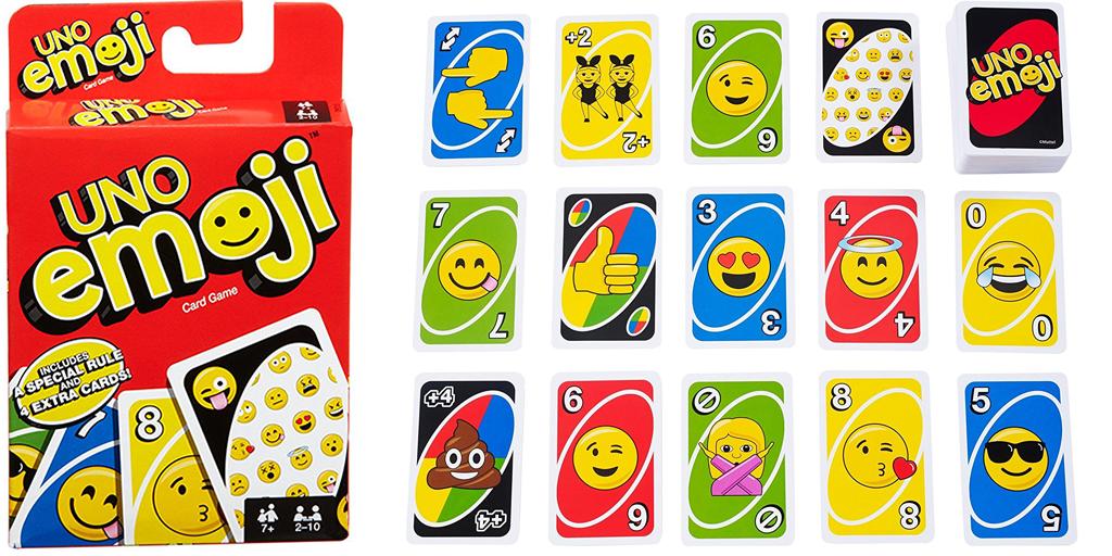 Amazon Emoji Uno Cards Uno cards, Cards, Emoji