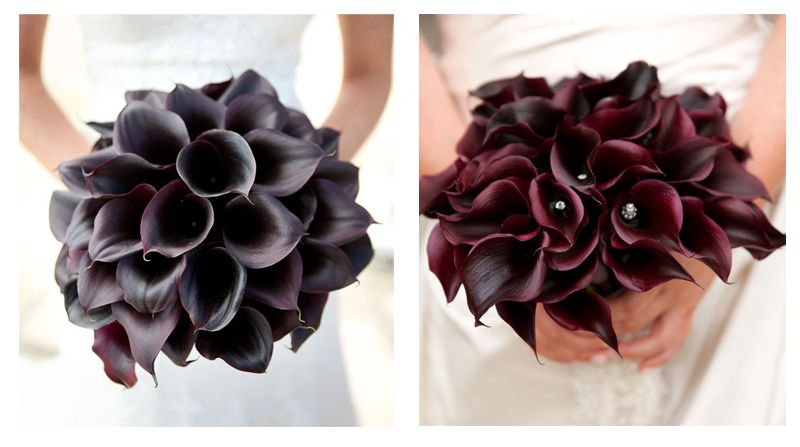 Luyue Calla Lily Bridal Wedding Bouquet Head Lataex Real Touch Flower Bouquets Material Imported Latex Flowers Size Length