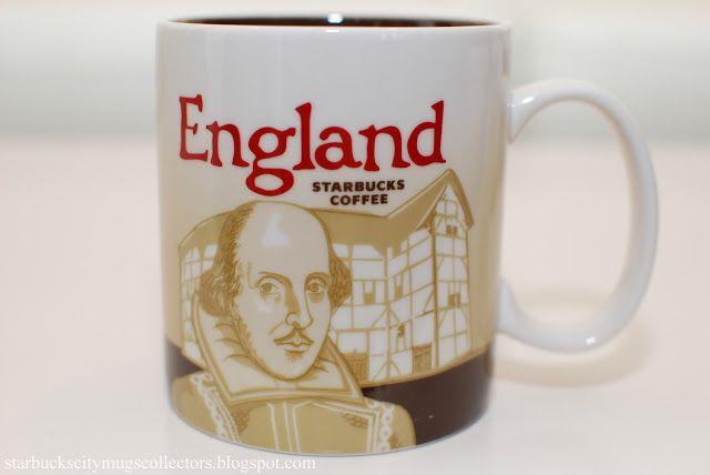 Starbucks City Mugs: ENGLAND ICON MUG
