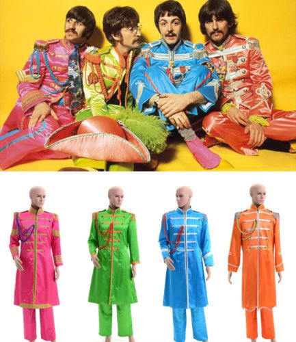 The Beatles Sgt Pepper S Lonely Hearts Club Band Costume Tailored Sgt Peppers Lonely Hearts Club Band Beatles Costume Beatles Sgt Pepper
