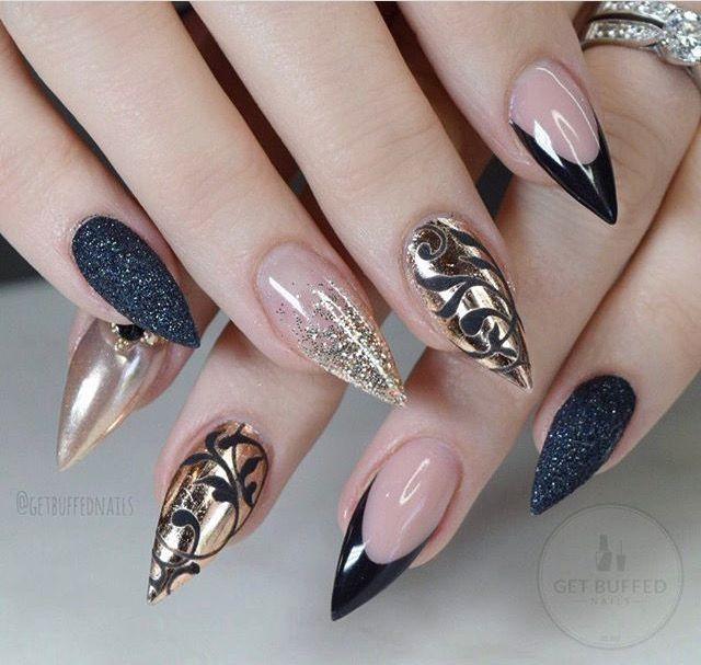 pιnтereѕт : @jenιιмarιee ♡ | Uñas | Pinterest | Nail nail, Nail ...