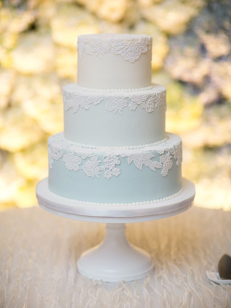 Simple Wedding Cakes That Prove Less Is More   Simple weddings ...