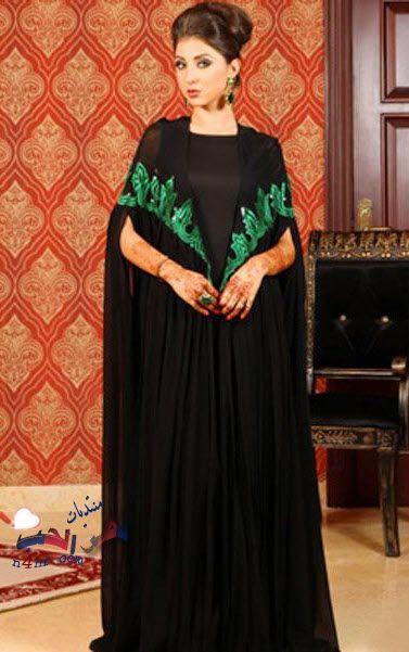 عبايات سعودية انيقة عبايات سعودية كشخة 2015 عبايات جميله Abaya Fashion Hijab Fashion Fashion