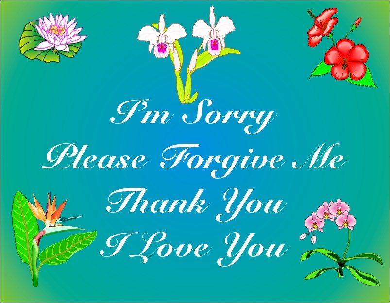 Hooponopono healing modalities i you love you