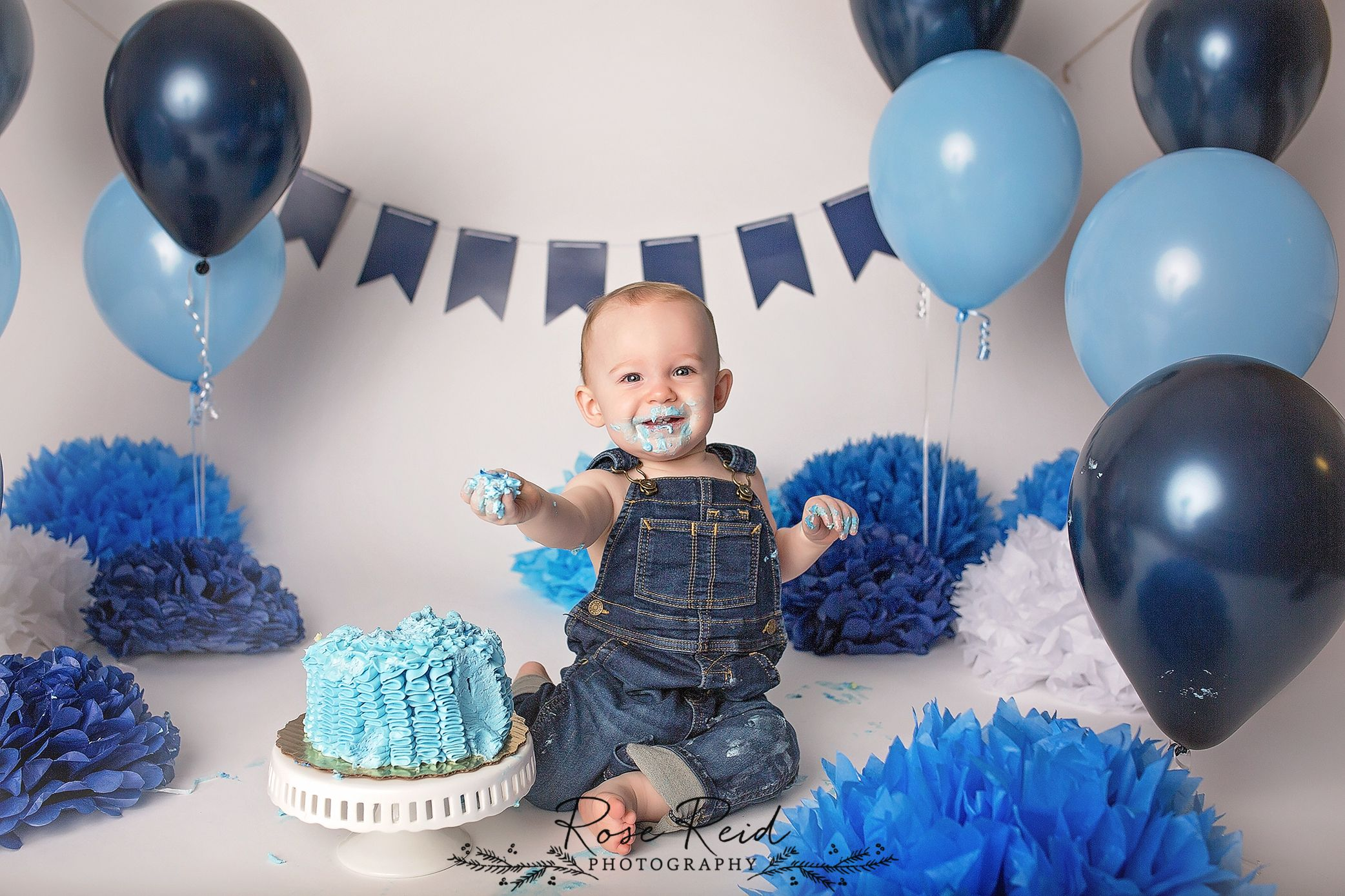 Miraculous Baby Boy Smash Cake Navy Smash Cake Blue Smash Cake Orlando Personalised Birthday Cards Beptaeletsinfo