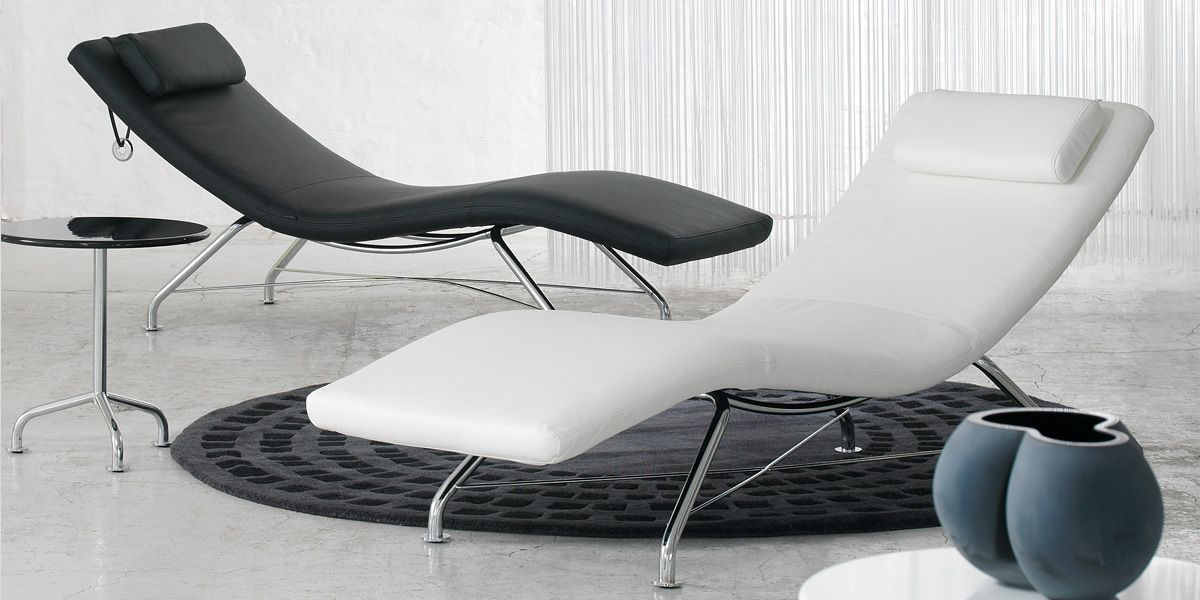 La Chaise Longue #Softline Sense Dispose D'Un #Design Intemporel Et