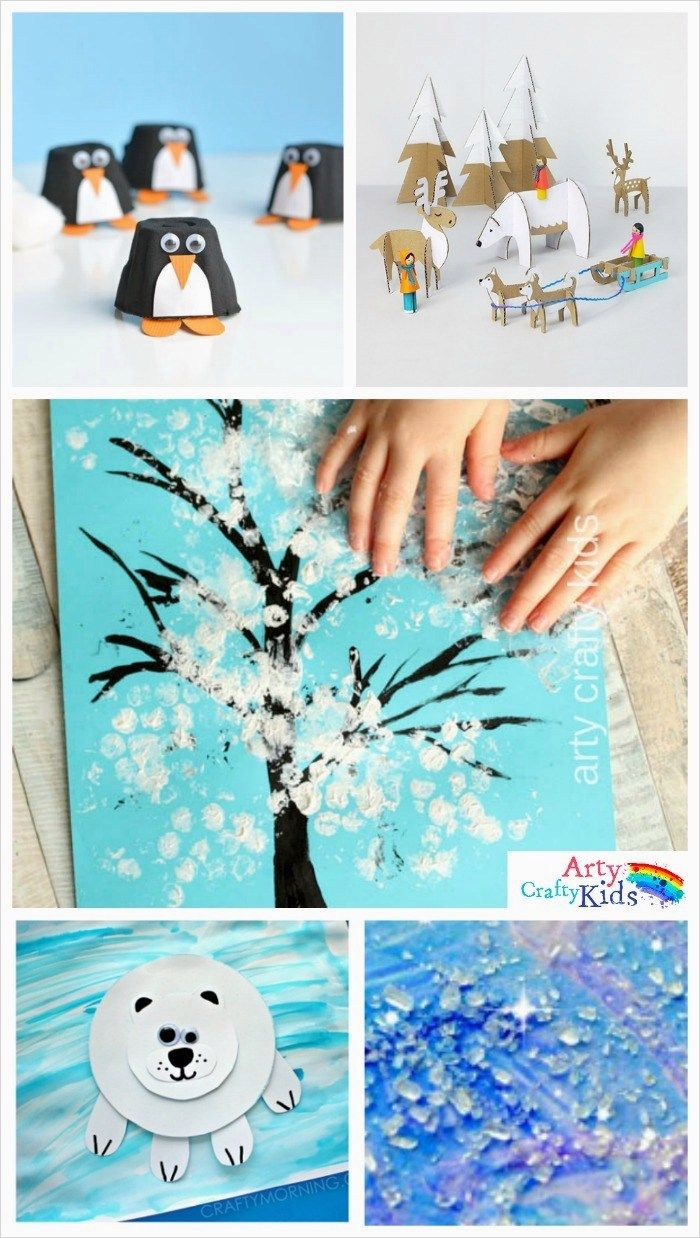 Easy Winter Kids Crafts That Anyone Can Make: 40 DIY Easy Winter Family Fun Crafts Idea
