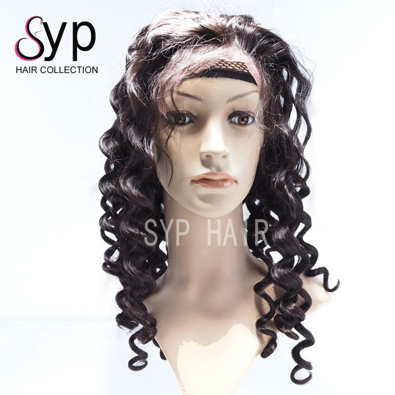 Pineapple Wave Natural Color Lace Front Wighair Extension Human Ha