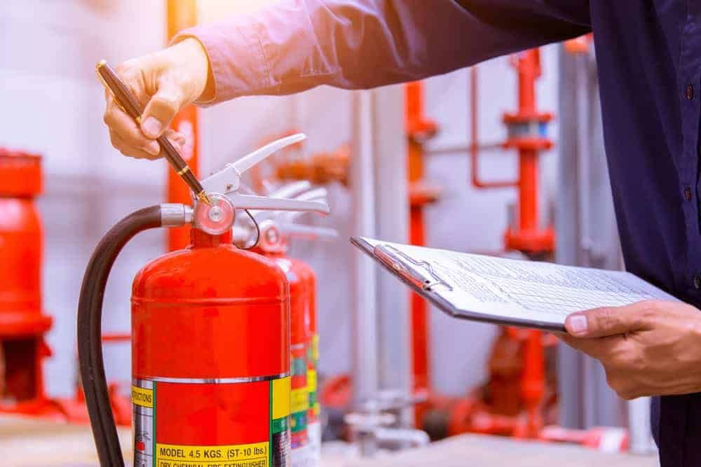 fire extinguishers inspection service near me