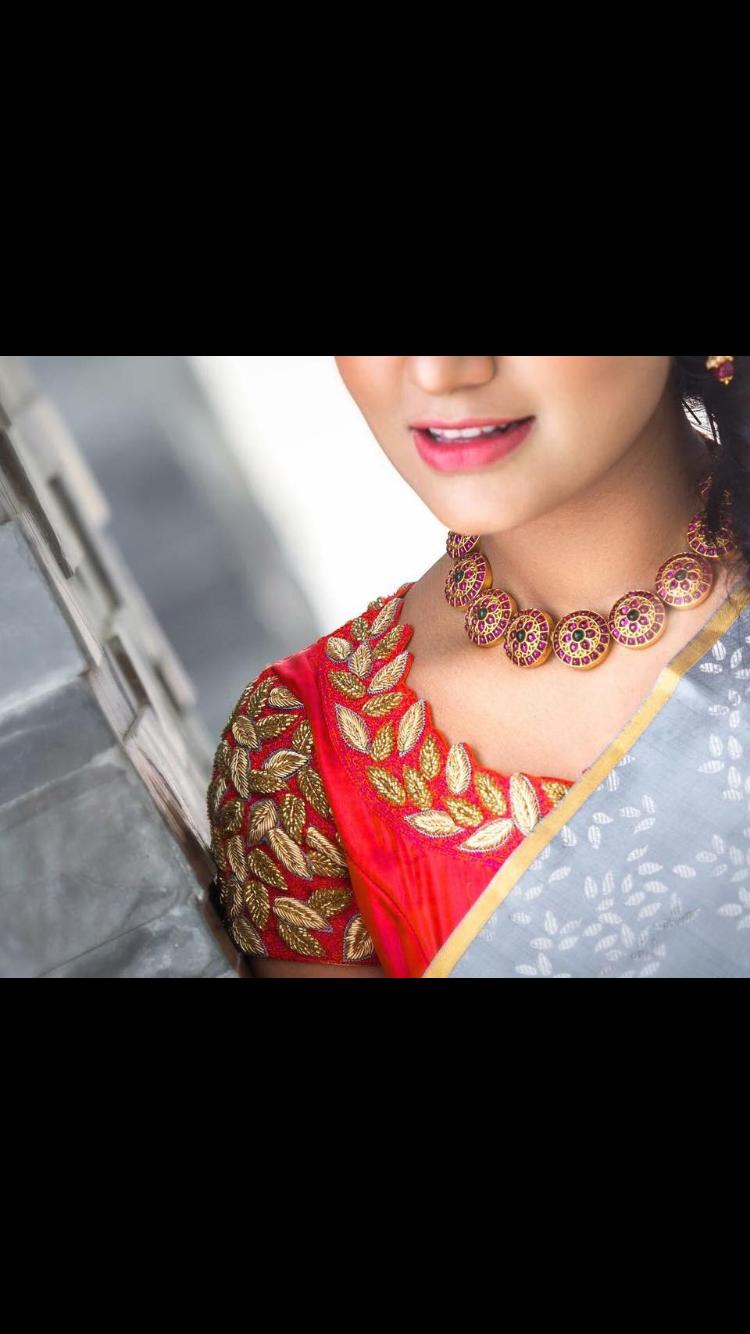 Saree blouse design new pin by shalini varun on designer blouses  pinterest  blouse