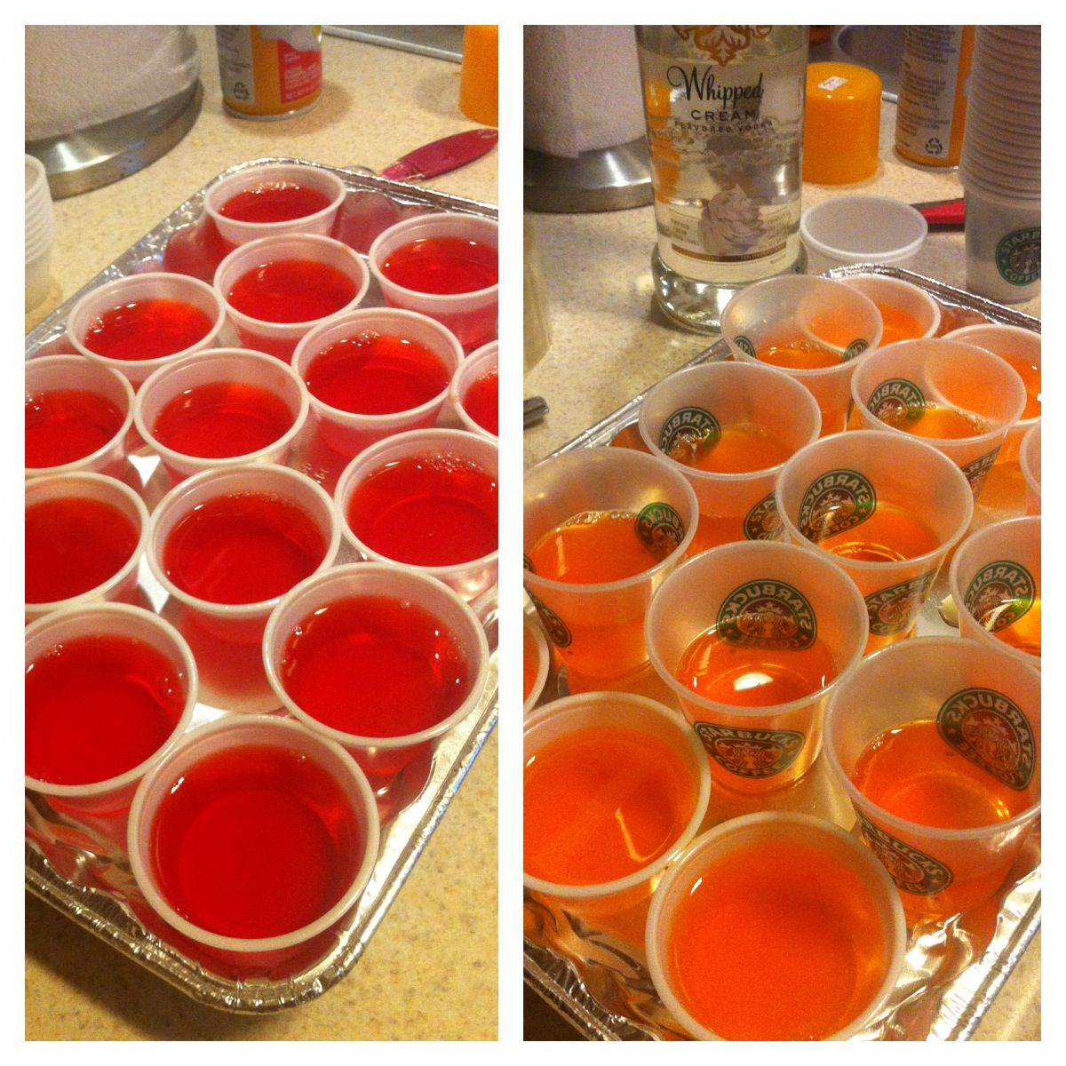 A New Twist On Jello Shots - Rum Punch