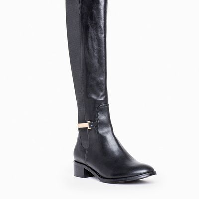 Britt RefIned Riding Boot Dressed up With gold HardwAre! Love it ...