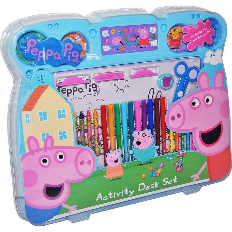 Set de Dibujo Jumbo Peppa Pig por 30 euros | Juegos para Pintar ...