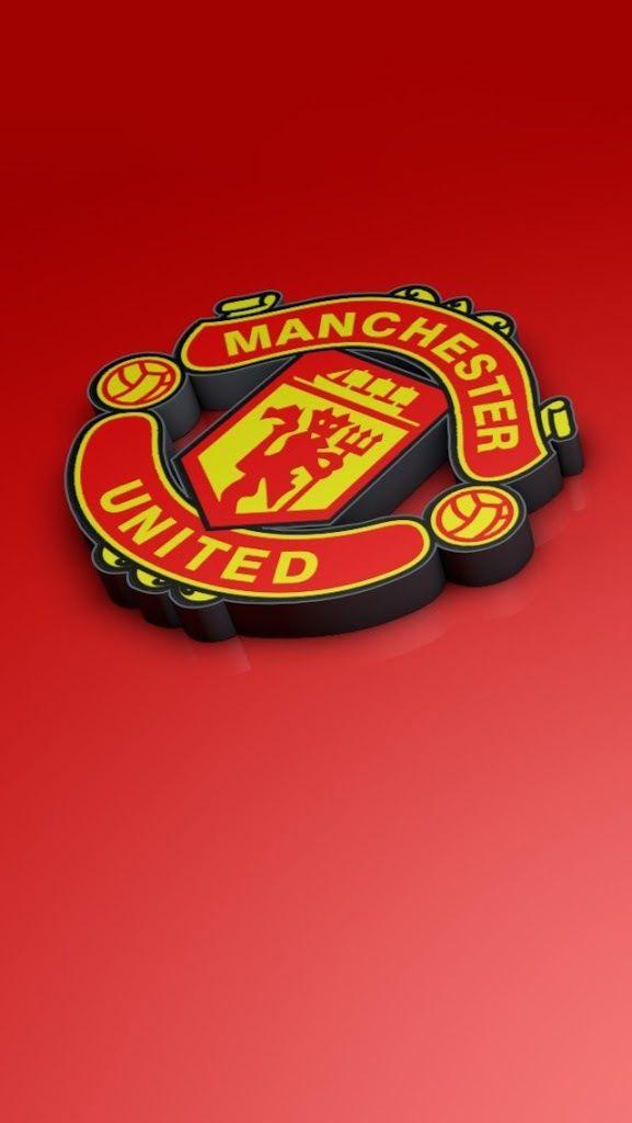 Man Utd Sepak Bola Olahraga Desain Logo
