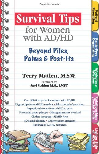 Terry Matlens List of Books on Adult ADHD You Gotta Have