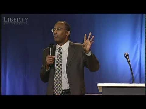 "A video of Dr. Ben Carson at Liberty University Convocation, March 2012...Pinner said...truly inspirational, as he is the neurosurgeon at Johns Hopkins Hospital who truly saved my quality of life!""  Please watch. :-)"