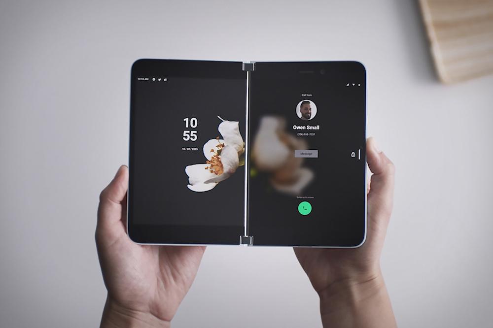 Microsoft Surface Duo Phone in 2020 Phone, Microsoft