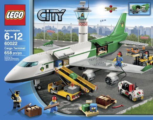 Amazon.com: LEGO City 60022 Cargo Terminal Toy Building Set: Toys ...